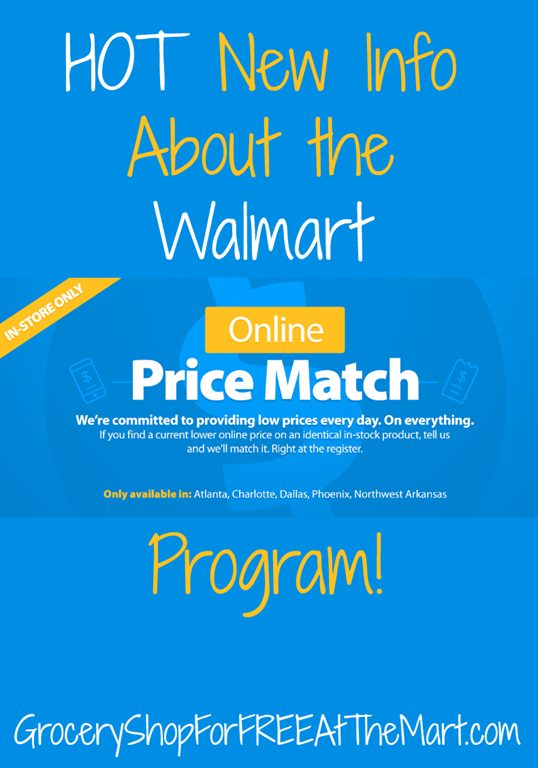 HOT New Info About The Walmart Online Price Match Program - Free ms word invoice template walmart online shopping store pickup