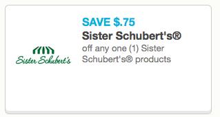Sister Schubert's Coupon