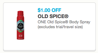 Old Spice Body Spray Only $2.97 At Walmart!