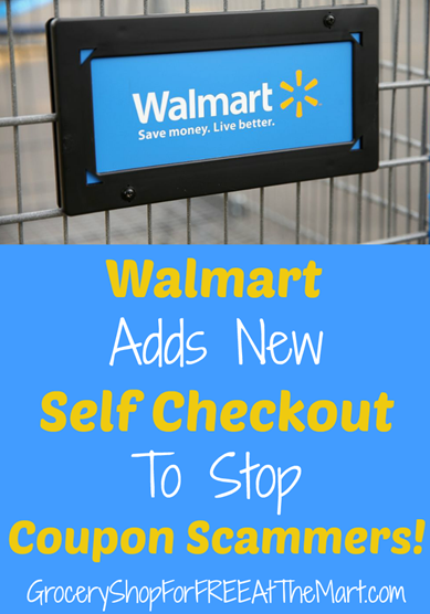 Walmart Adds New Self Checkout To Stop Coupon Scammers