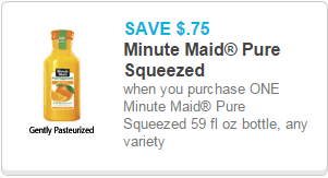 Minute Maid Coupon