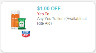 yes to products coupon