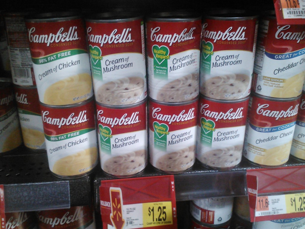 Campbell's Great for Cooking soups 1-12-12