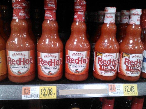 Frank's RedHot Sauce 4-19-12