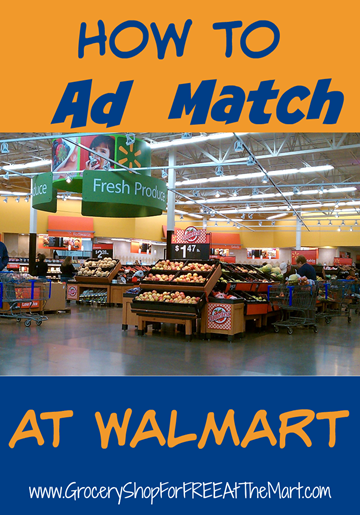 How To Ad Match At Walmart
