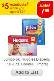 huggies price match cvs