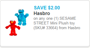 Sesame Street Coupon