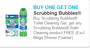 Scrubbing Bubbles Coupon