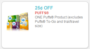 puffs facial tissue coupon