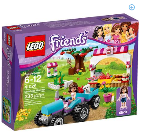 LEGO Friends Sunshine Harvest Play Set On ROLLBACK for $14 + FREE Store Pickup!