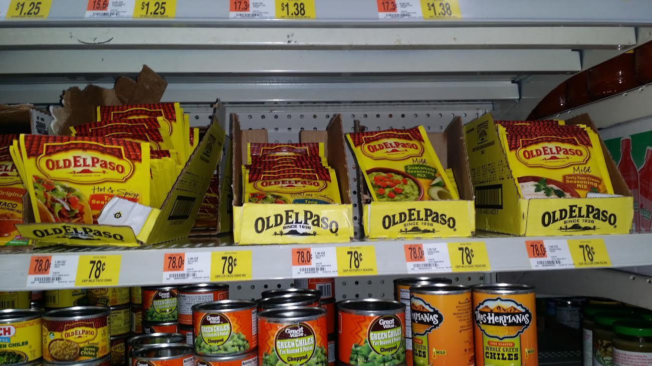 Old El Paso Walmart Deal