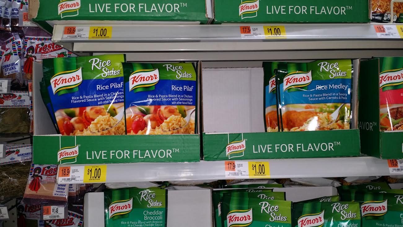 Knorr Sides Deal At Walmart
