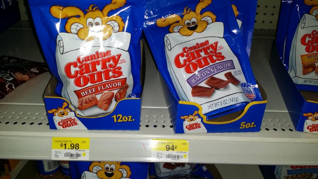 Canine Carry Outs Dog Treats Just $0.69