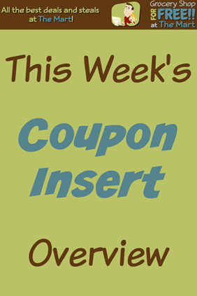 Coupon Insert Overview
