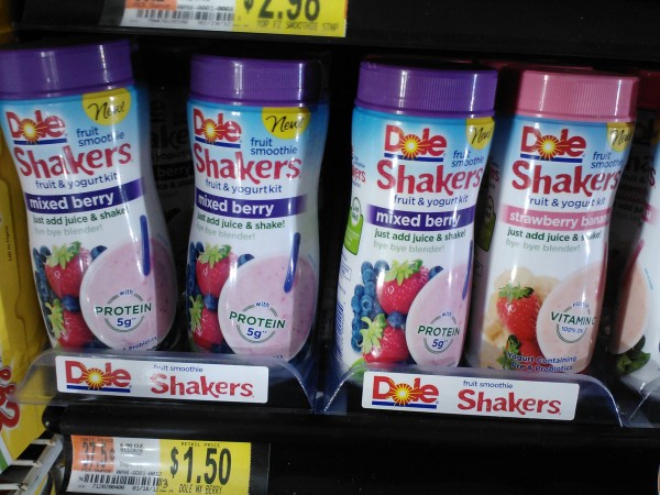 Dole Smoothie Shakers for $1 at Walmart!
