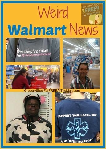Weird Walmart News
