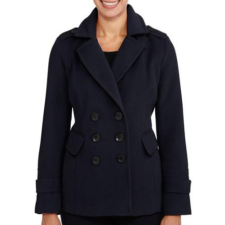 Women's Wool Blend Peacoats Only $20 + FREE Store Pickup (Reg. $39.95)!
