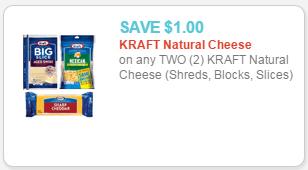 kraft natural cheese coupon