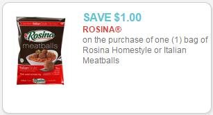 rosina meatballs coupon