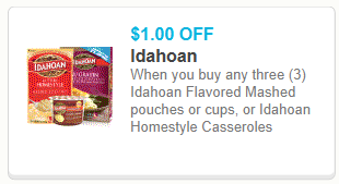 Idahoan Mashed Potato Pouches