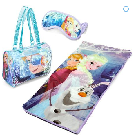 ROLLBACK - Disney Frozen 3-Piece Toddler Sleepover Slumber Sack with Purse and Bonus Eye Mask Just $19.98 (was $35)!
