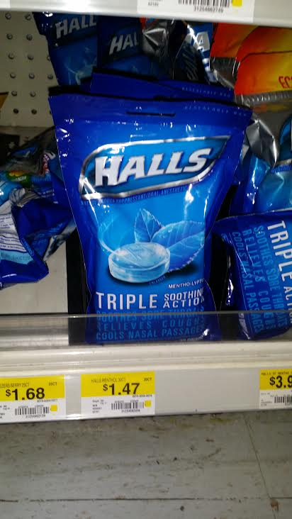 Hall's Cough Drops Just $0.97