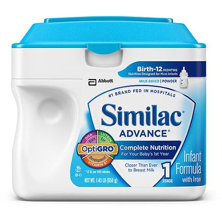Similac Baby Formula Just $22.48 At Walmart!