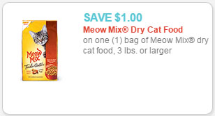 photograph regarding Meow Mix Coupon Printable named Meow Blend Dry Cat Food items for $3.24 at Walmart!