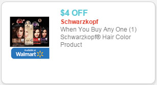photograph about Printable Schwarzkopf Coupons named Schwarzkopf Hair Colour Just $5.97 at Walmart!