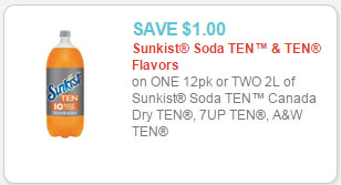 sunkist ten coupon