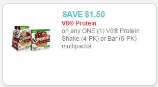 v8 protein coupon