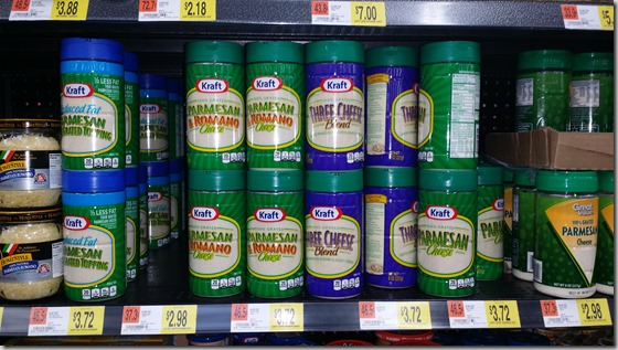 New High Dollar Coupon for Kraft Parmesan Cheese!