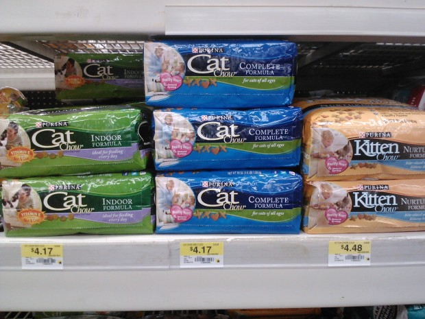 Purina Cat Chow Only $3.12 at Walmart!