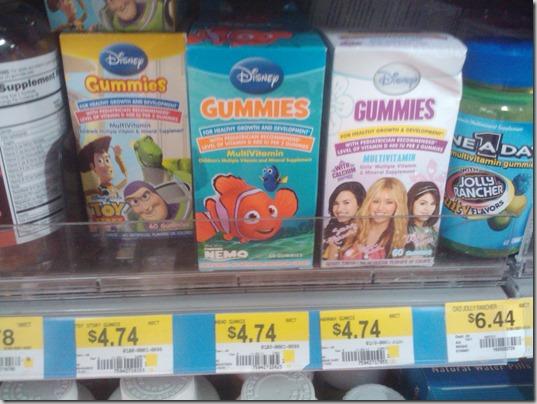 Disney Vitamins 11-6-11
