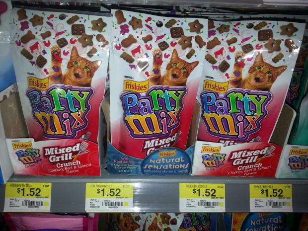 Friskies Party Mix Cat Treats Only $1.18 at Walmart!