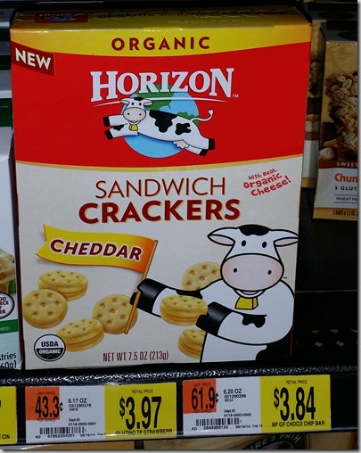 Buy One Horizon Sandwich Crackers, Get One FREE!
