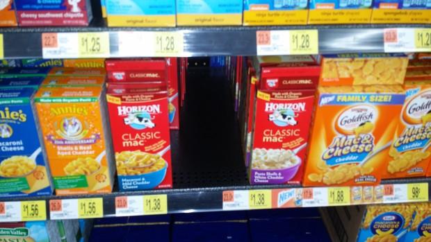 Horizon Mac and Cheese Only $1 at Walmart!