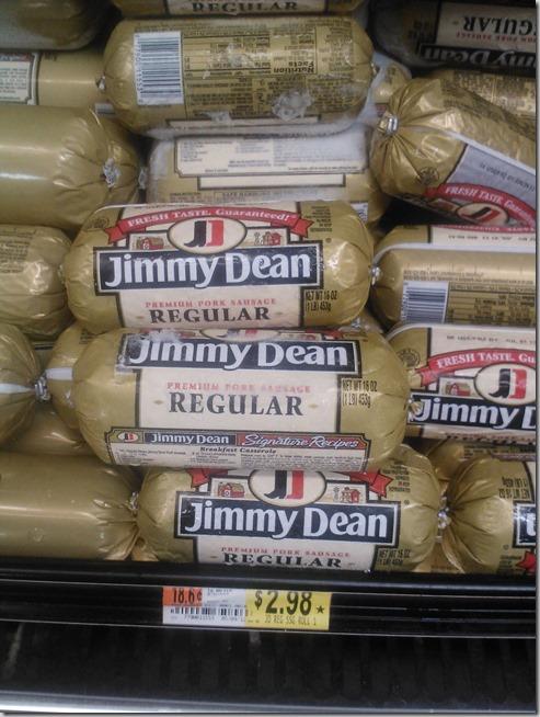Jimmy Dean Sausage Rolls Just $1.98 at Walmart!