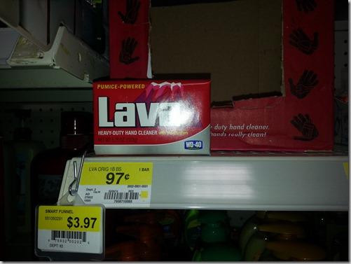 Lava Soap Just $.42 at Walmart!