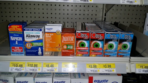 picture regarding Zaditor Coupon Printable identify Zaditor Eye Drops Simply just $9.96 at Walmart!