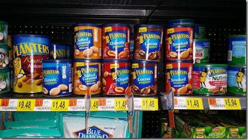 Planters Nuts Just $.98 at Walmart!