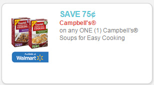 campbell's easy cooking coupon
