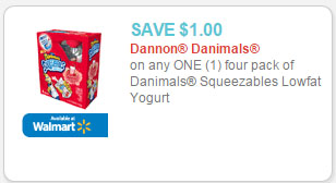 danimals coupon