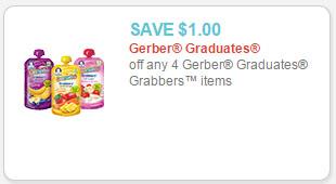 gerber graduates coupon