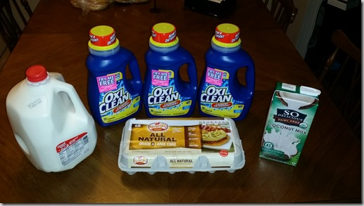 How I Saved on Milk, Eggs and Detergent This Weekend at Walmart!