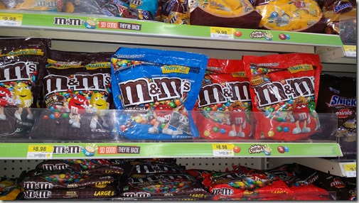 Save $1 on M&M's at Walmart!