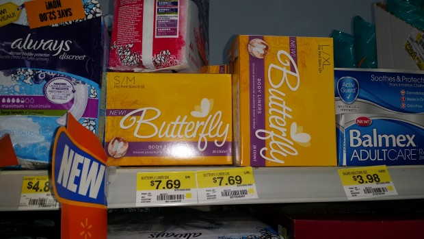 Butterfly Body Liners Only $6.69 at Walmart!