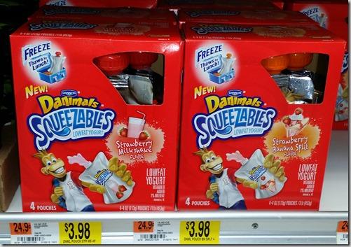 Danimals Squeezables Yogurt Just $2.98 at Walmart!