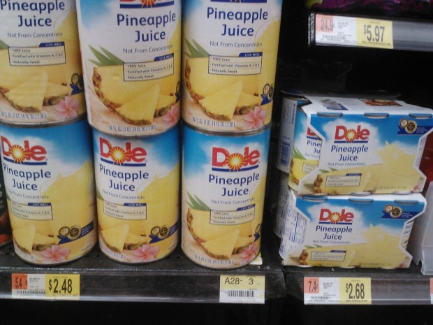 Dole Pineapple Juice 6-Packs Only $1.93 at Walmart!