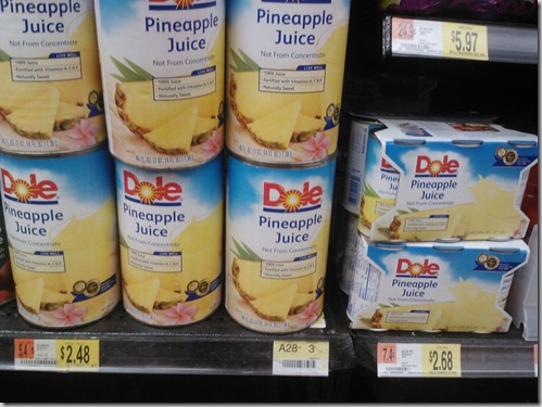 New Printable Coupons for Dole Fruit and Juice and Walmart Matchups!